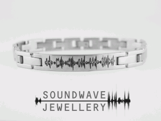 Soundwave Jewellery - Custom Stainless Steel Bracelet