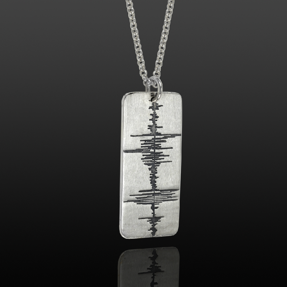 Soundwave_Dog Tag_Necklace_Men's_Jewelry