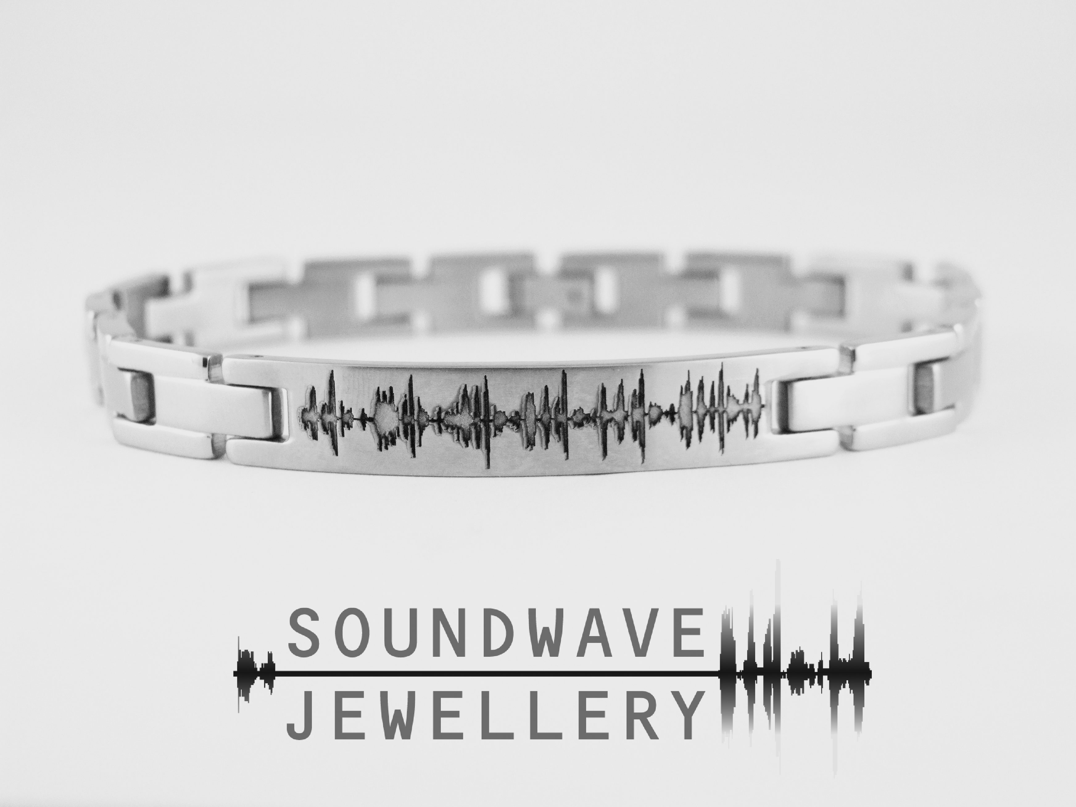 Custom Soundwave Bracelet Jewellery